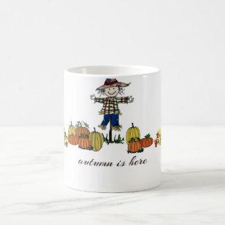 """Autumn is Here"" Mug"