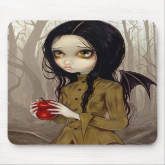Autumn is My Last Chance gothic fairy Mousepad