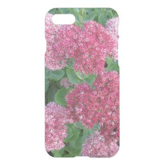 Autumn Joy Sedum Flowering Garden Plant Pink Green iPhone 7 Case