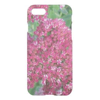 Autumn Joy Sedum Red Pink Cluster Flower iPhone 7 Case