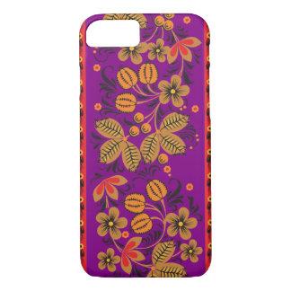 Autumn Khokhloma iPhone 7 Case