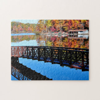 Autumn Lake Jigsaw Puzzles