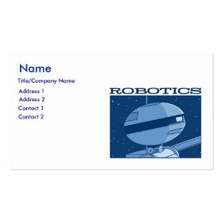 """Autumn Lake """"ROBOTICS!"""" Business Card"""
