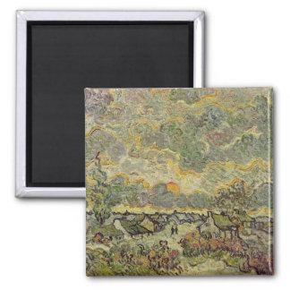 Autumn landscape, 1890 fridge magnets