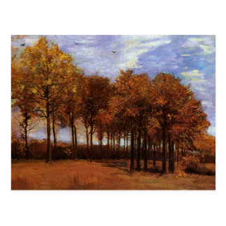 Autumn Landscape by Vincent van Gogh Postcard