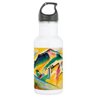 Autumn Landscape by Wassily Kandinsky 532 Ml Water Bottle