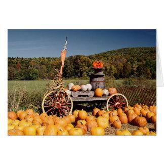 Autumn Landscape card