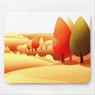 Autumn Landscape. Thanksgiving Gift Mousepad