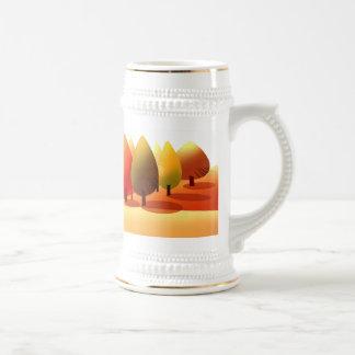 Autumn Landscape. Thanksgiving Gift Mug