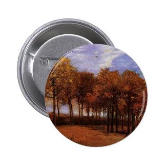 Autumn landscape Vincent van Gogh Pins