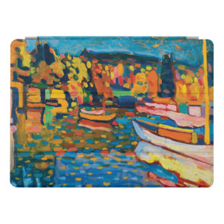 Autumn Landscape with Boats by Wassily Kandinsky iPad Pro Cover