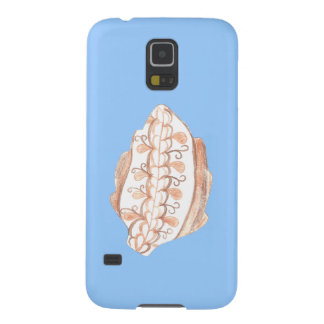 Autumn Leaf and Blue Skies Phone Case Galaxy S5 Cover