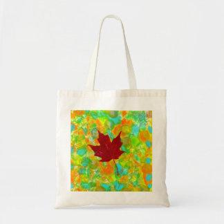 Autumn Leaf Budget Tote Bag