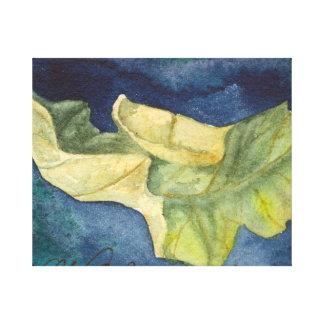 Autumn leaf Canvas Wrap Canvas Print