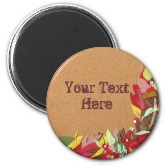 Autumn Leaf Magnet - Customized