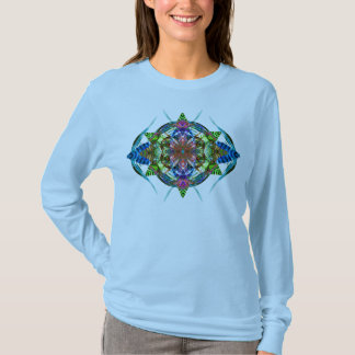 Autumn Leaf Mandala 6 T-Shirt