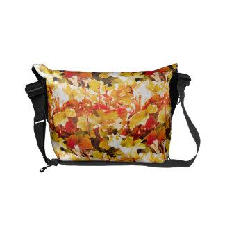 Autumn Leaf Messenger Bag