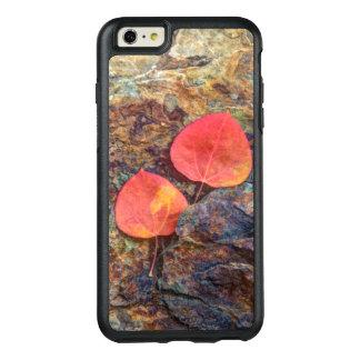 Autumn leaf on rock, California OtterBox iPhone 6/6s Plus Case