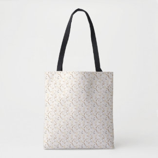 Autumn Leaf Pattern All-Over-Print Tote Bag