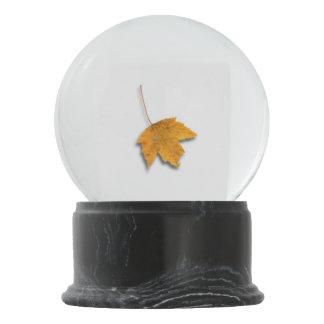 Autumn Leaf Snow Globe
