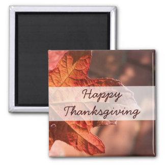 Autumn Leaf V2 Thanksgiving Refrigerator Magnet