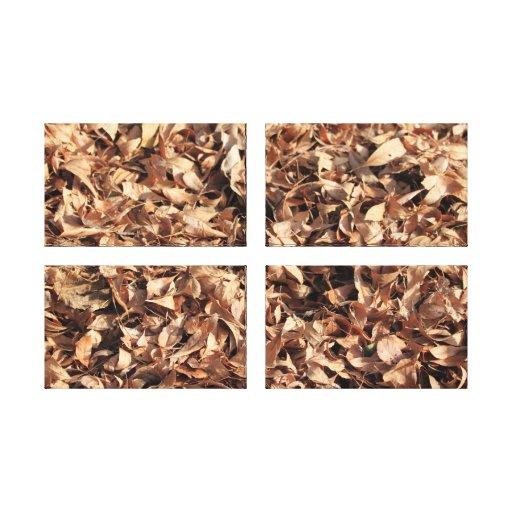Autumn Leafs Gallery Wrap Canvas