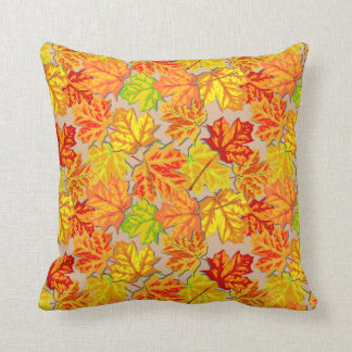 Autumn Leaves Accent Pillow