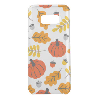Autumn Leaves and pumpkins Uncommon Samsung Galaxy S8 Plus Case
