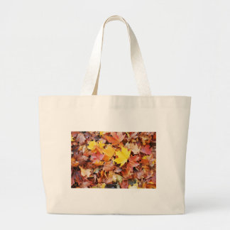 Autumn leaves bags