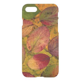 Autumn Leaves Botanical Personalized iPhone 7 Case
