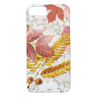 Autumn Leaves & Chrysanthemums Phone Case