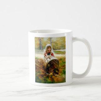 Autumn Leaves Classic White Coffee Mug