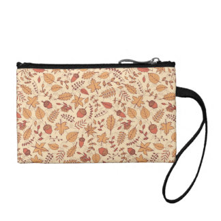 Autumn Leaves Coin Purse