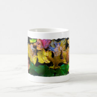 Autumn Leaves Collage Mug By Thomas Minutolo