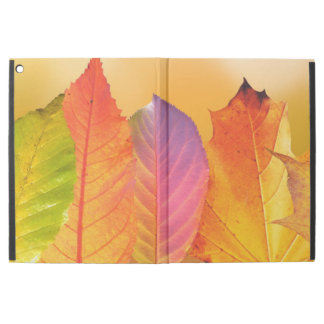 "Autumn Leaves Colorful Modern Fine Art Photography iPad Pro 12.9"" Case"