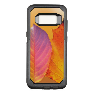 Autumn Leaves Colorful Modern Fine Art Photography OtterBox Commuter Samsung Galaxy S8 Case