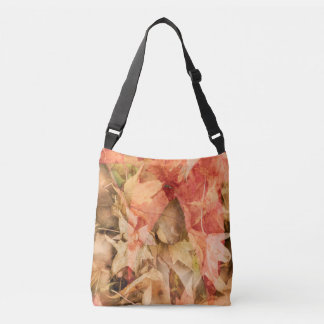 Autumn leaves crossbody bag