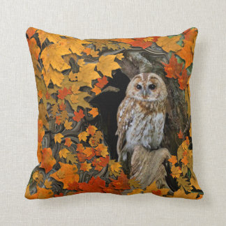 Autumn Leaves. Cushion
