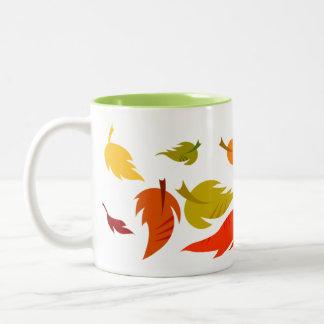 Autumn Leaves. Customizable Thanksgiving Gift Mug