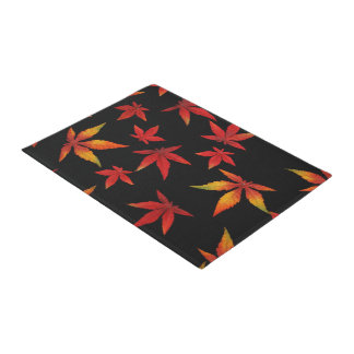 Autumn Leaves Door Mat