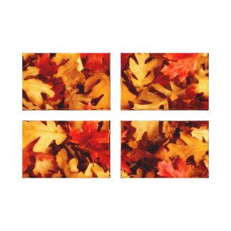 Autumn Leaves - Fall Color Canvas Print