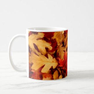 Autumn Leaves - Fall Color Coffee Mug