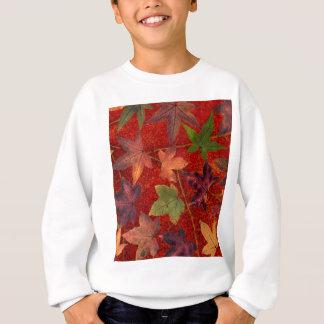 Autumn Leaves Fall Season Tree Leaf Colorful Sweatshirt