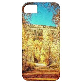 Autumn Leaves, Fall Season, Trees 01 iPhone 5 Case