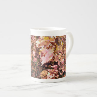 Autumn leaves, fall, seasons tea cup
