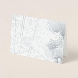 Autumn Leaves Foil Card