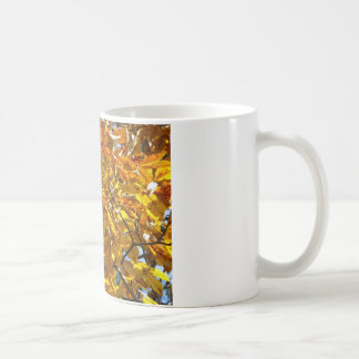 Autumn Leaves Gold Gifts Apparel Collectibles Mug