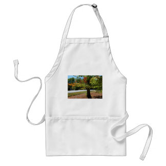 Autumn Leaves in Maine Standard Apron