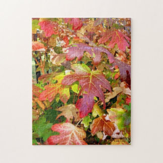 'Autumn Leaves' Jigsaw Puzzle