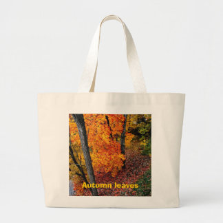 Autumn-leaves, Jumbo Tote Bag